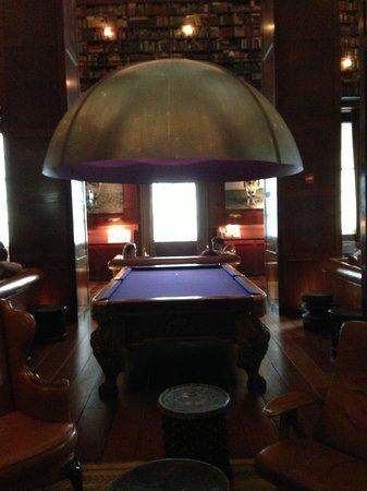 Hudson Hotel New York: Biblioteca