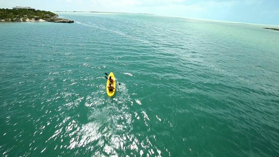 The Meridian Club Turks & Caicos: Kayak as little or as much as you want