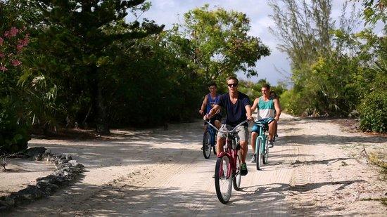 The Meridian Club Turks & Caicos: Bike around Pine Cay