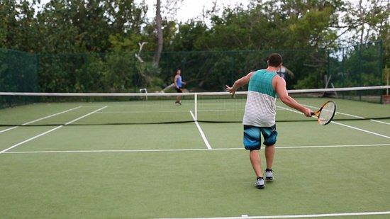The Meridian Club Turks & Caicos: Tennis Too!