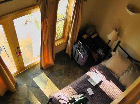 Chalet View Lodge: Blick von oben