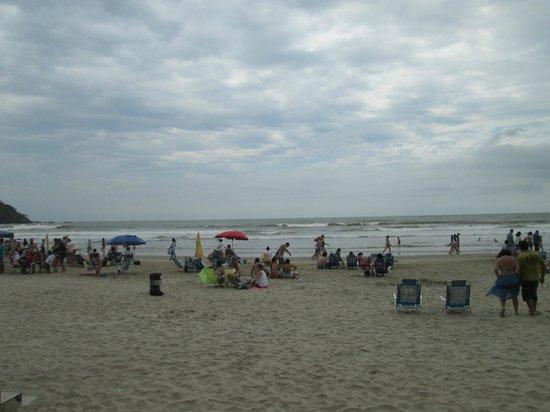 D'Sintra Hotel: praia em frente ao hotel