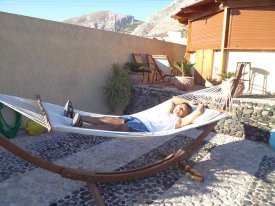 Horizon Resort: Rede de descanso no pátio do hotel
