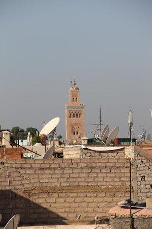 Riad Al Karama : Vue toit terrasse