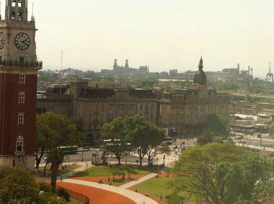 Sheraton Buenos Aires Hotel & Convention Center: Вид из окна отеля
