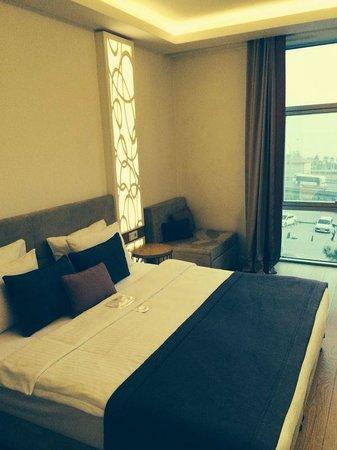 Wes Hotel: Schlafzimmer