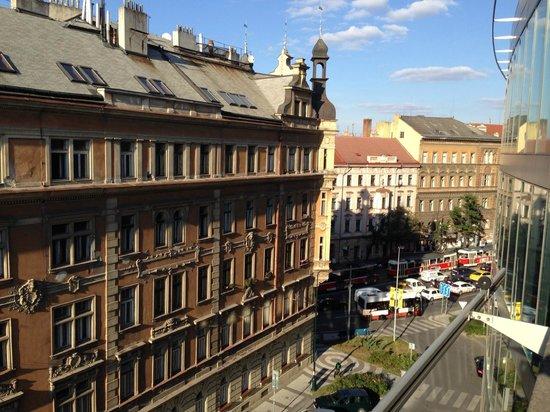 Novotel Praha Wenceslas Square: Vista de Praga