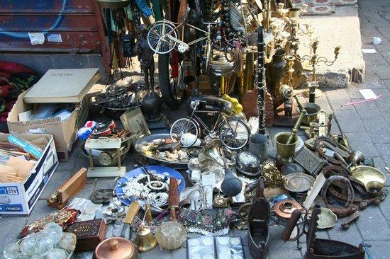 Monastiraki: flohmarkt6