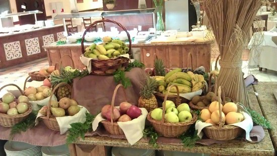 Gran Tacande Wellness & Relax Costa Adeje: Шведский стол