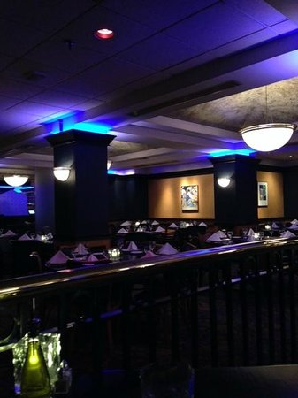 Lombardo's Trattoria: View of the restaurant from my table in the corner