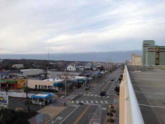 Hampton Inn Virginia Beach Oceanfront South 5th Floor Parking Garage