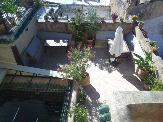 Dar Tamo: Terrasse