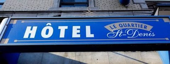Hotel St-Denis: Name