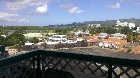 Sonesta Maho Beach Resort, Casino & Spa: not so great view from room 771