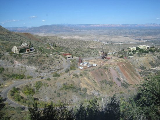 Jerome Winery: Awesome View of the Jerome Area