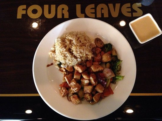 Four Leaves Asian Restaurant: Hibachi Chicken Lunch Special
