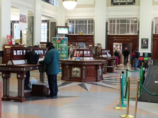 General Post Office (GPO): inside the post office