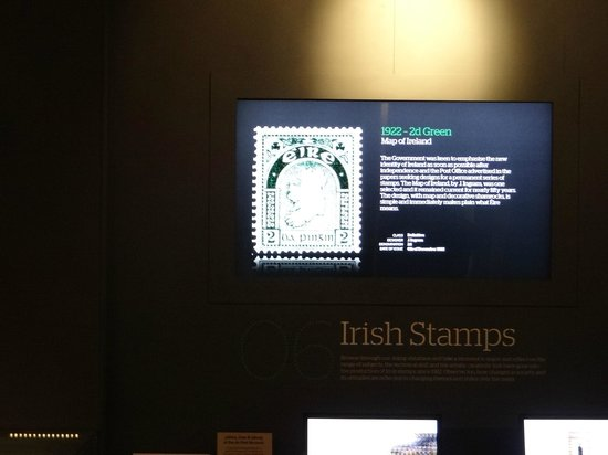 General Post Office (GPO): database of all Irish stamps