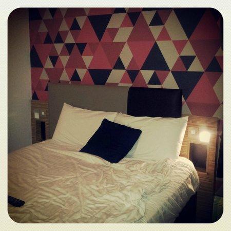Cityroomz Edinburgh : Ma chambre.. ou plutot le lit.