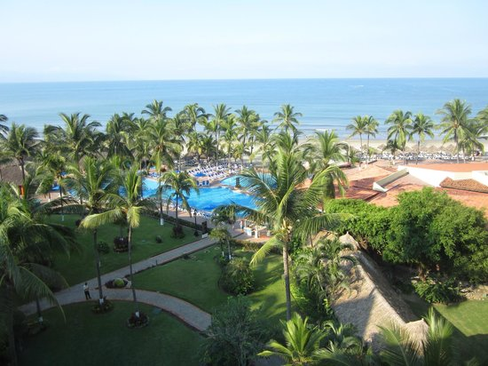 Occidental Nuevo Vallarta : View from the Royal Club dining room