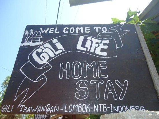 Gili Life Homestay : Hotel Name