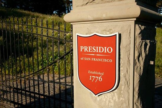 Hotel Drisco: Presidio Gate