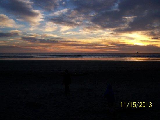 Crescent Beach: Awesom sunset