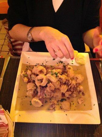 Le Canard: fritto di calamari