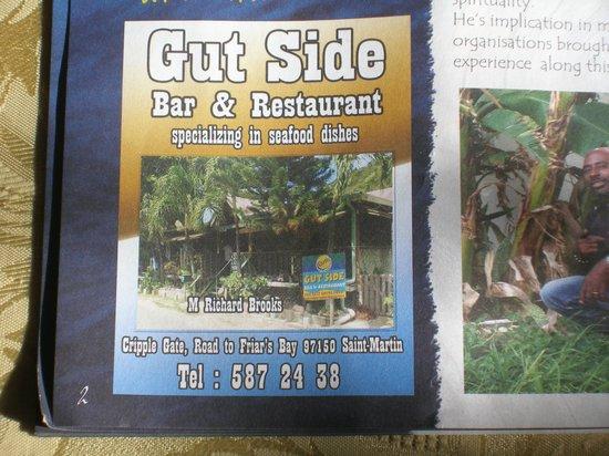 Gutside Bar and Restaurant: Gutside