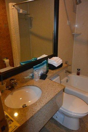 Red Lion Inn & Suites Long Island City: Salle de bain