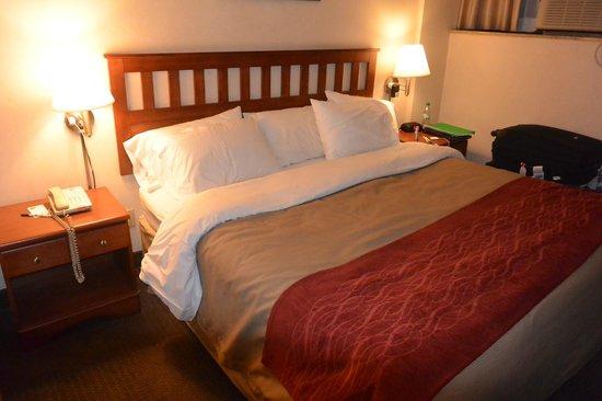 Comfort Inn : Lit