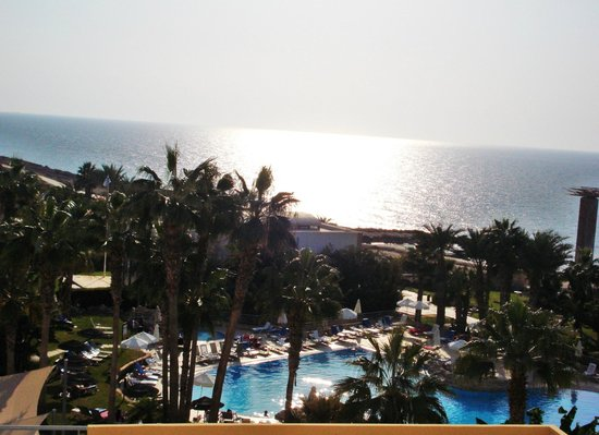 Hotel St. George: widok z balkonu