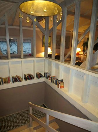 Apartamenty Galeria : escalier