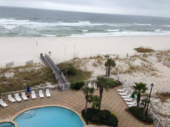Holiday Inn Express Orange Beach: view from the room