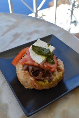 SKIZA Cafe: tortino salato