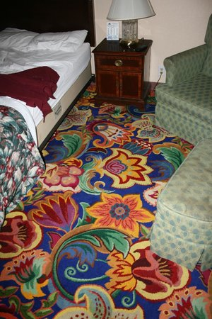 Sunrise Inn: Carpet from the UK, well we have to get at you somehow!