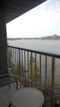 Bonnie Castle Resort: View of Boldt Castle