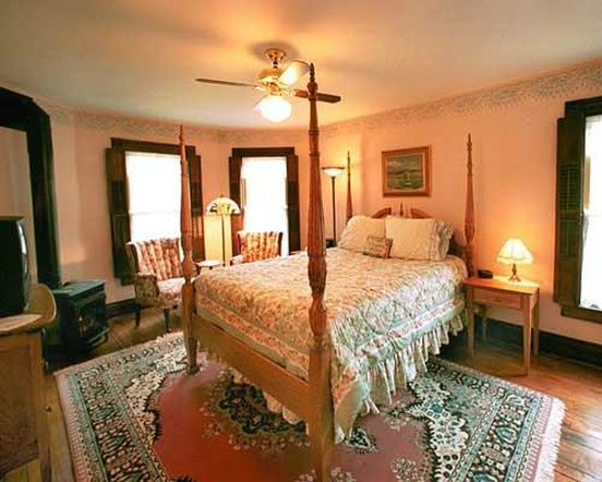 Trimmer House Bed and Breakfast: Guest Room