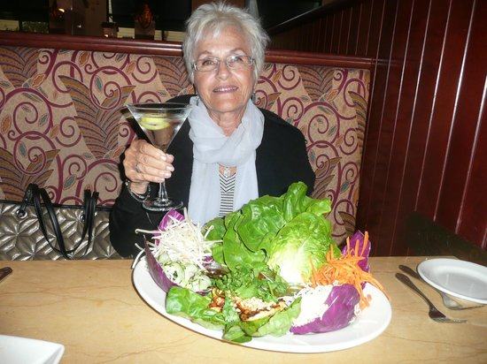 The Cheesecake Factory: Thai Lettuce Wraps and a Chopin Martini!