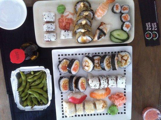 Wasabi Sushi: Mooie verzorgde gerechten