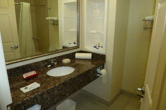 Best Western Plus Barsana Hotel & Suites : Sanitärbereich