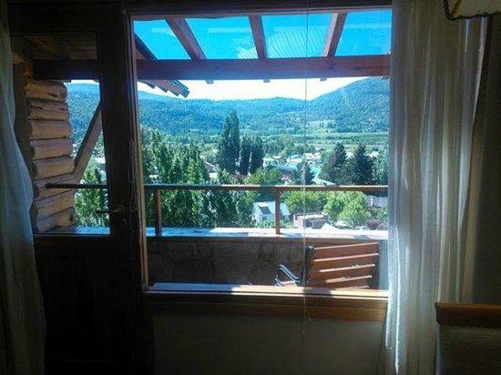 Complejo Patagon SMA : Vista del Balcón de la Casa