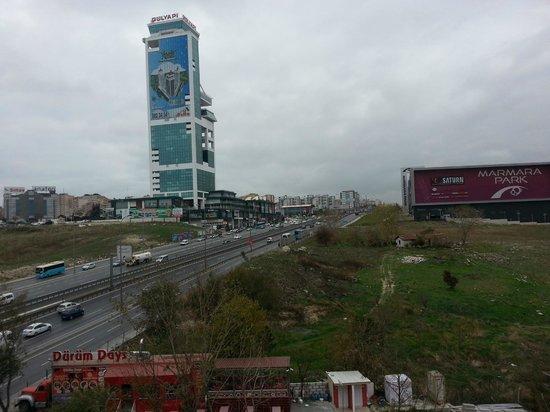 Ibis Istanbul Esenyurt: view from room 510