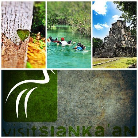 Visit Sian Ka'an : Logotipo y selecion de nuestros actividades