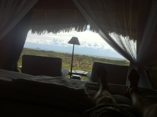 Amboseli Eco-system, Kenya: The most beatiful view from the room