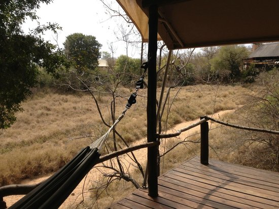 Garonga Safari Camp: VIEW FROM TENT 6