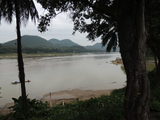 Mekong Riverview Hotel: View from my Veranda off my room