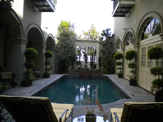 Bienville House: View of pool.