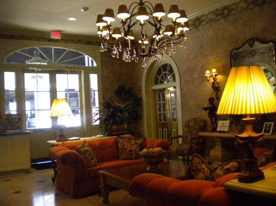 Bienville House : Lobby.