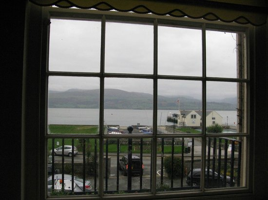 The Bulkeley Hotel : View fit for a princess